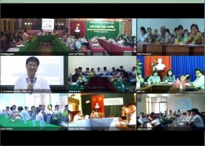 Triển khai hội nghị truyền hình cho Sở GD&ĐT Bà Rịa Vũng Tàu