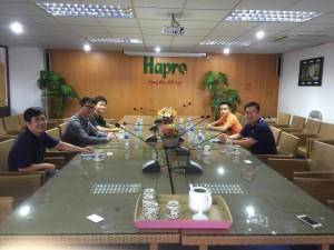 Cuộc gặp gỡ giữa Haproinfo và Voipmart