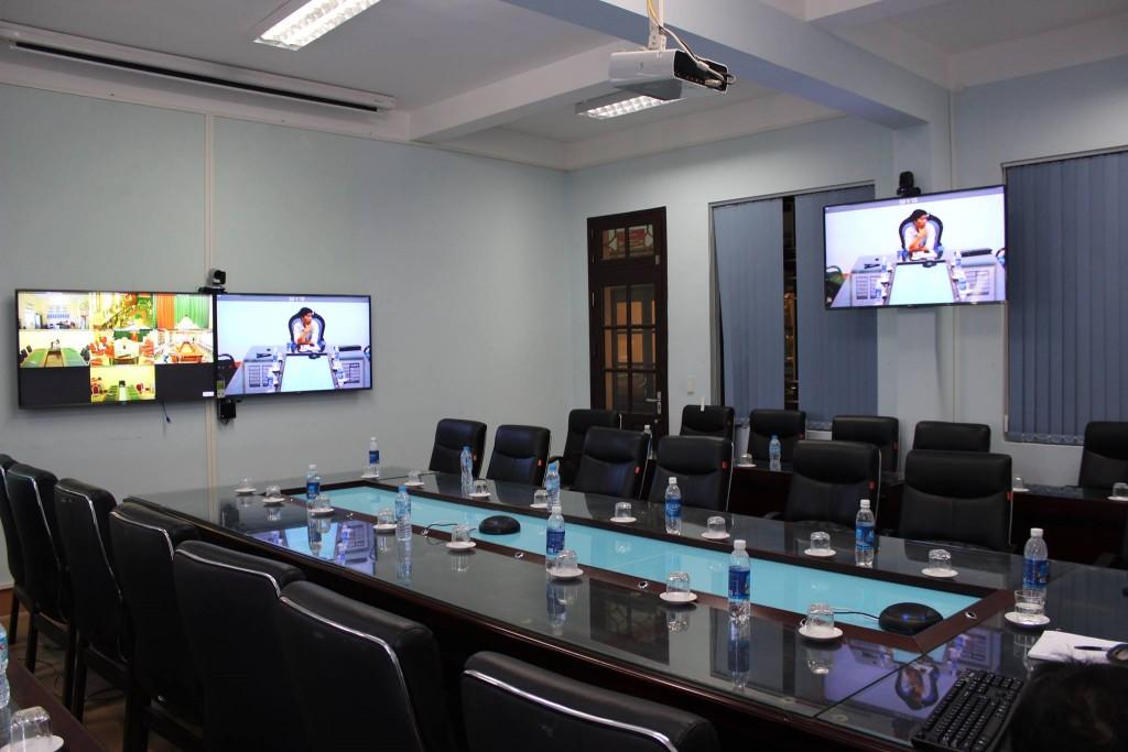 Hệ thống HNTH của Sở Y tế Hòa bình sử dụng phần mềm Trueconf