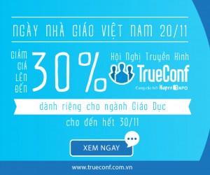 CHƯƠNG TRÌNH SALE LỚN NHẤT 2017 – TRUECONF GIẢM GIÁ LÊN ĐẾN 30%