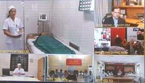 Công nghệ hội nghị truyền hình y tế hỗ trợ chăm sóc bệnh nhân tại Quảng Ninh