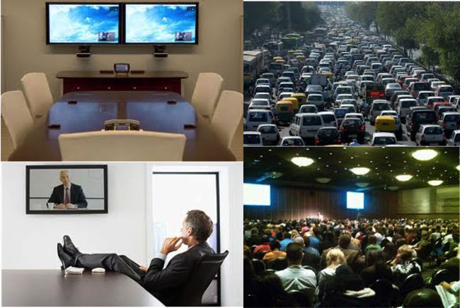 Hội nghị truyền hình thay đổi phong cách làm việc của doanh nghiệp