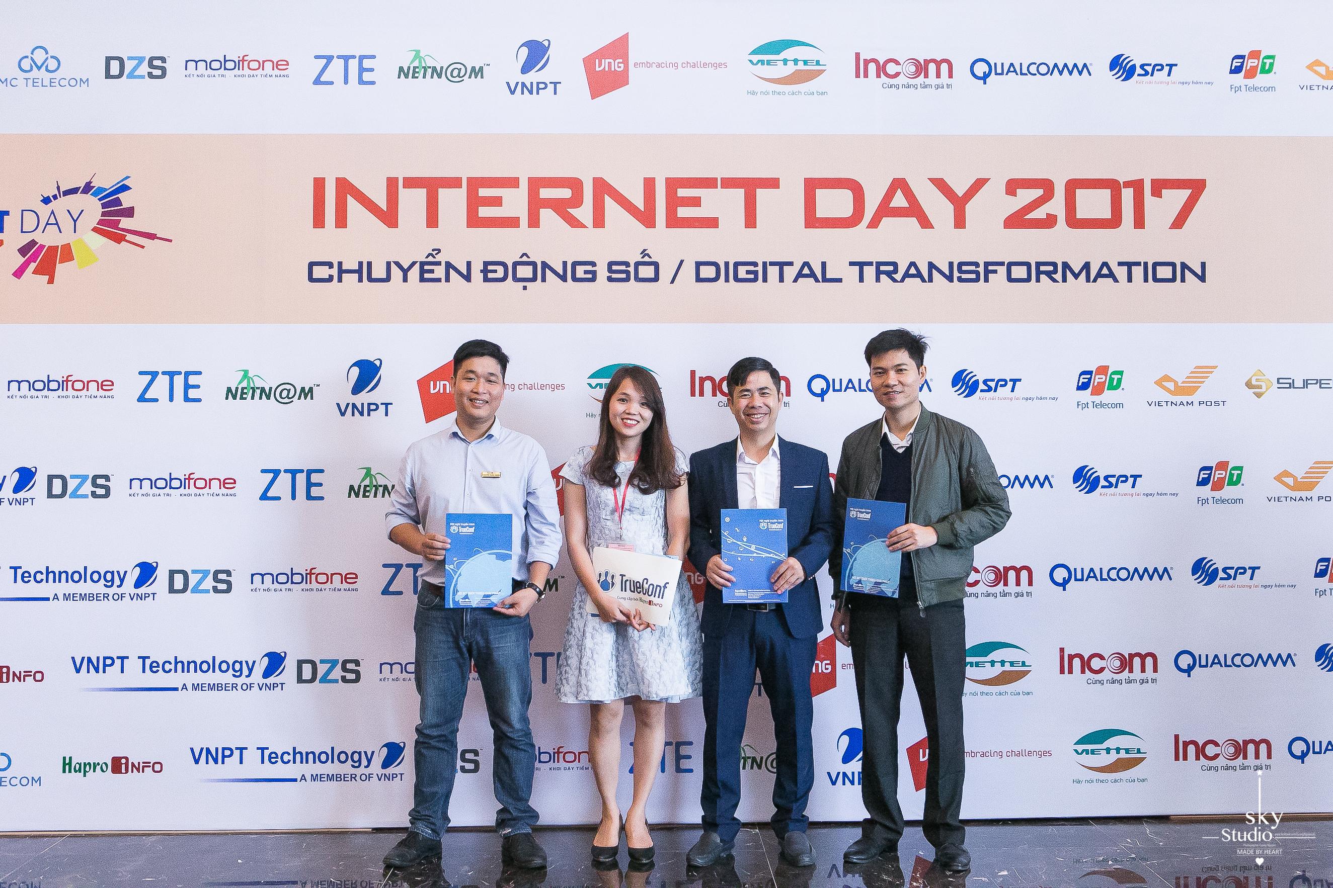Trueconf và ngày hội Internetday 2017