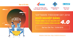 Haproinfo hỗ trợ livestream trong sự kiện Software Freedom Day 2018