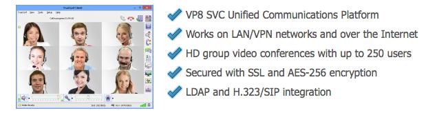 Phần mềm hội nghị truyền hình cho máy chủ - TrueConf Server