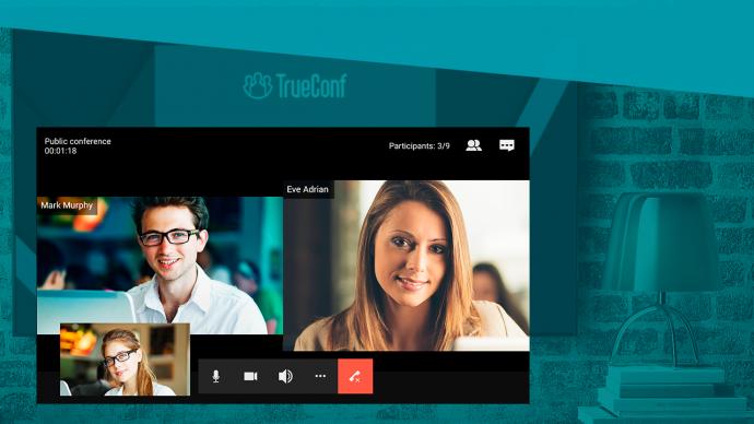 Trueconf xuat hien tren smart tv android 3