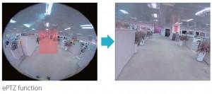 Camera PTZ và Camera ePTZ – Sự khác biệt là gì?