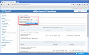 Làm thế nào để cấu hình HTTPs trong Trueconf Server