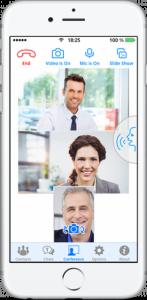 Phiên bản Trueconf 1.7 iOS – Dấu ấn trong hội nghị truyền hình Mobile