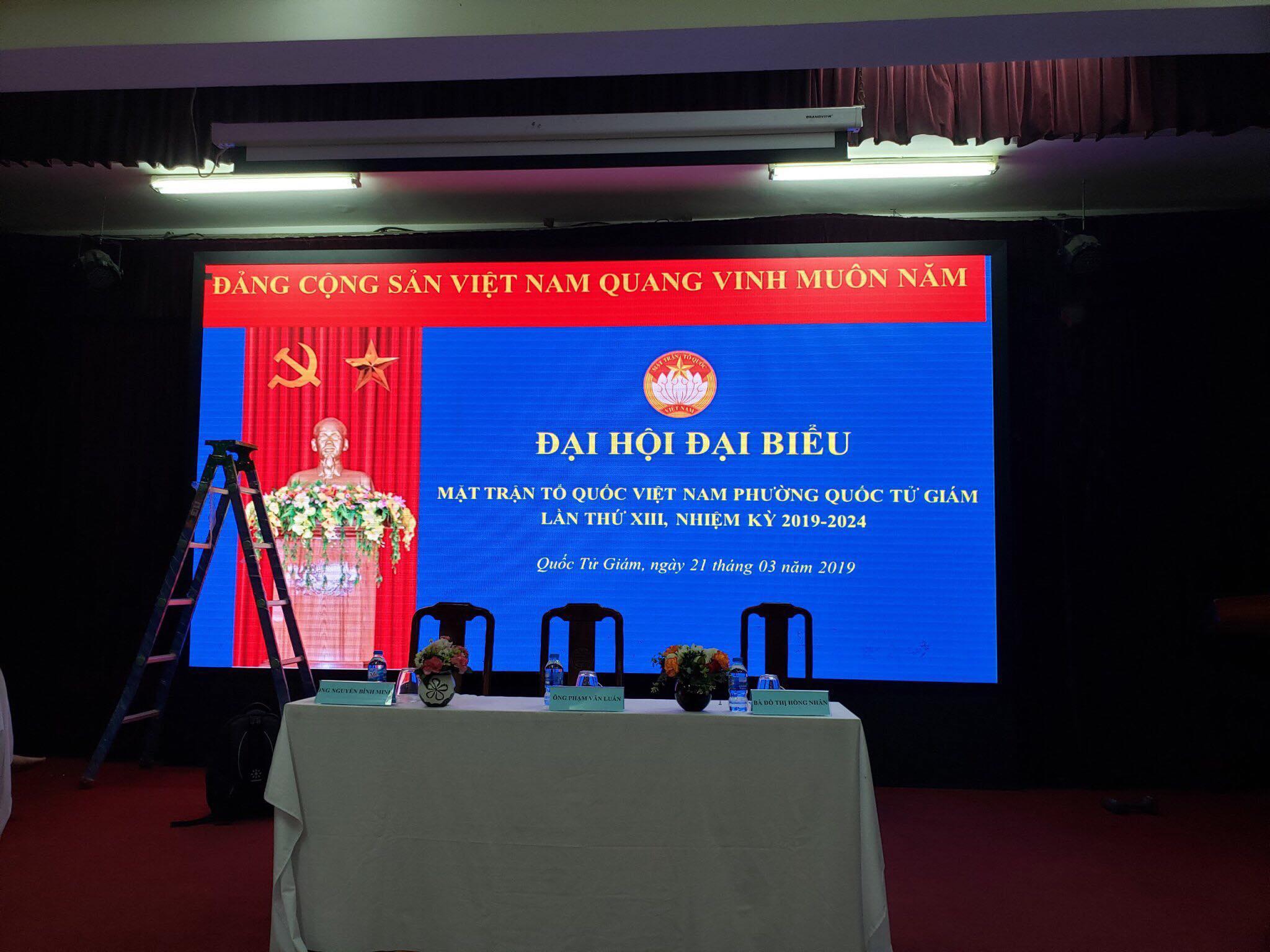 Màn hình LED- thiết bị mới của Hội nghị truyền hình