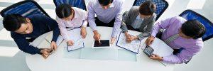 Phòng họp Hội nghị truyền hình – cách thiết lập để tăng năng suất.