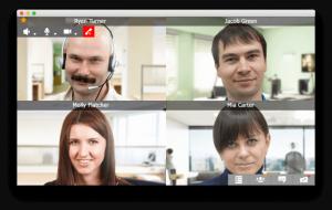 Phòng họp ảo trên TrueConf OS X