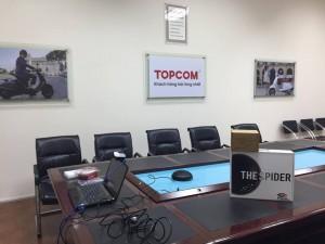 Piagio Topcom phát triển vượt bậc nhờ ứng dụng họp trực tuyến Trueconf