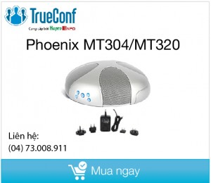 Phoenix Audio Quattro3 USB Conference Speakerphone and Phoenix Audio 48‐Volt Daisy Chain Power Kit