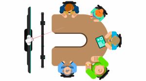 Làm thế nào để setup phòng họp trực tuyến với bàn chữ U