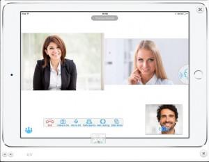 Trueconf phiên bản mới 1.7 dành cho iOS- đột phá mới trong Mobile video Conferencing