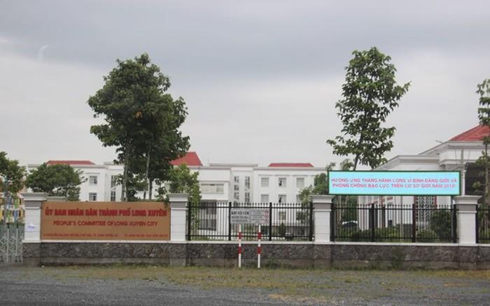 Ủy ban nhân dân Thành phố Long Xuyên, tỉnh An Giang